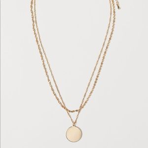 H&M • Gold Double Strand Necklace